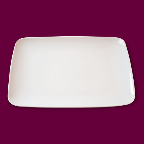 assiette rectangle